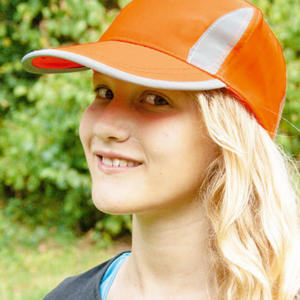 Premium High Visibility Cap for Kids